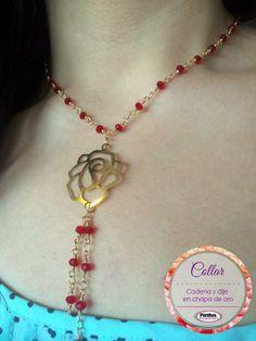 Buen día  Hoy les mostramos esta bonita idea con cadena en chapa de oro ¿Les gusta?