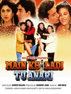 Main Khiladi Tu Anari Hindi in HD - Einthusan Streaming Movies, Hd Movies, Movies To Watch, Hd Streaming, Hindi Bollywood Movies, Tamil Movies, Hindi Movies Online, Comedy Films, Akshay Kumar