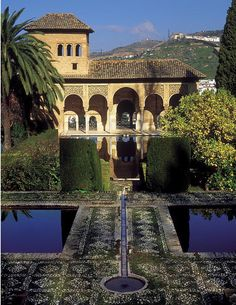 Alhambra Palace in Spain. Visited here on a trip to Madrid. Alhambra is in Grenada.