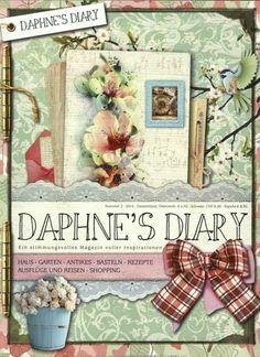 So schön das Cover - so schön der Inhalt. Gefunden in: Daphnes Diary Nr. 2/2014