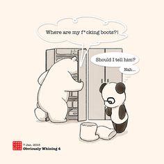 Tell me jajajajaa panda and polar bear Panda Hug, Baby Panda Bears, Panda Love, Red Panda, Polar Bear, Happy Birthday Bear, Happy Birthday Drawings, Cute Panda Cartoon, Cute Relationship Texts