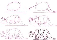 Como dibujar algunos animales...
