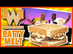WHATABURGER® PATTY MELT Live Food Review with Daym Drops - YouTube