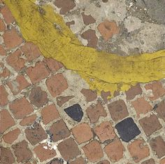 Patterson Maker Miller — robert-hadley: Boyle Family - Cobbles Study with. Family Photography, Street Photography, Boyle Family, Road Markings, Art Alevel, Yellow Line, Photo Work, Abstract Photography, Relleno