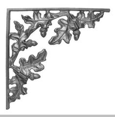 Oak Decorative Bracket