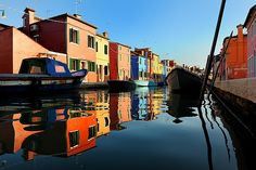 Colours of Burano, Venice  by R.Jaegers