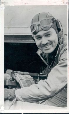 1964 Actor Clark Gable an Aerial Gunner in World War II ~