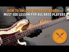 """How to unlock your fretboard! """"Must see"""" lesson for bass players (L#141) - Online Bass Lessons"""