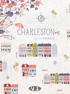 Amy Sinibaldi has two new fabric lines from AGF, Charleston and Les Petites.