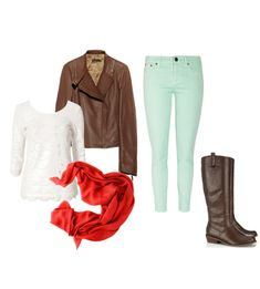 School outfit - polyvore