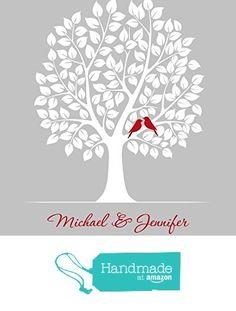 Wedding Gift for Couple, Personalized Engagement Present, First Anniversary Husband Wife - Art Print from Cedar House Keepsakes https://www.amazon.com/dp/B0167JY5E4/ref=hnd_sw_r_pi_dp_tUgFybMB44AXV #handmadeatamazon