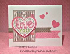 CTMH Card using Lollydoodle paper and Cloud Nine stamp set