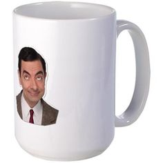 Large Mug #silkycherry #cafepress #mrbean #teddy #onlineshopping #onlineshop #bargain #deals #sale #cheap