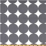 Dwell Studio Fabrics are a must.  Love this charcoal dots.