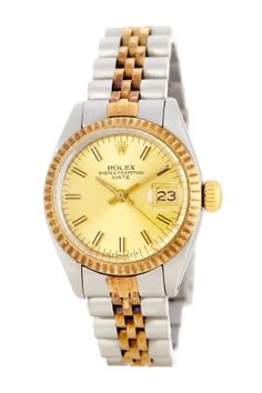 Vintage Rolex Women's Date Stainless Steel Watch