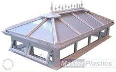 Flat Roof Materials, Roofing Materials, Chimney Cap, Roof Lantern, Roof Light, Lanterns, Gazebo, House Plans, Architecture