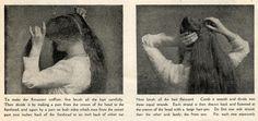Coiffure Lesson ~ 1910 | 2