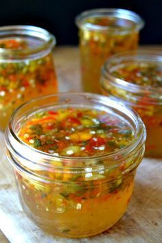 great for your camping caravan store to put with bbq meats and fish or add to pasta for zing Super Easy Hot Pepper Jelly Recipe