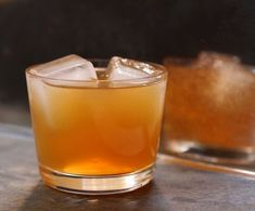 Gin and Apple Cider. 1 part gin, 3 parts unsweetened apple cider, 1 dash orange bitters, Orange peel, cut into long spirals, for garnish. Fill a rocks glass with ice. Add the gin, cider and bitters, and stir. Garnish with the orange peel.