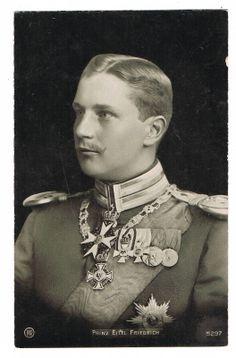Prinz Eitel Friedrich von Preußen, um 1915