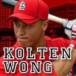 Kolten Wong- easily the best looking baseball player there is.