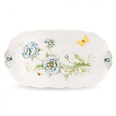 Lenox Dinnerware Butterfly Meadow Oblong Tray - 6108195