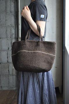 eimeku Crochet Tote, Crochet Handbags, Knit Crochet, Macrame Bag, Boho Bags, Knitted Bags, Cotton Bag, Handmade Bags, Canvas Tote Bags