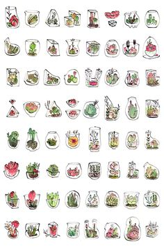 25 Easy Doodle Art Drawing Ideas For Your Bullet Journal – Brighter Craft Easy Doodle Art, Doodle Art Drawing, Plant Drawing, Drawing Ideas, Bullet Journal Art, Bullet Journal Ideas Pages, Bullet Journal Inspiration, Simple Doodles, Cute Doodles