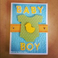 Shower Invitation - B is for Boy Cartridge - by Sophia on Cricut Messageboard