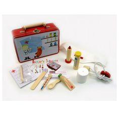 Cheeky Chops Shop  - Doctors Kit in Metal Case, $24.95 (http://www.cheekychops.com.au/doctors-kit-in-metal-case/)