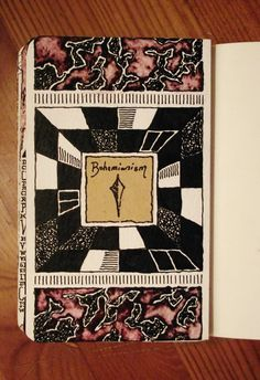 Moleskine 02, #032 Bohemianism