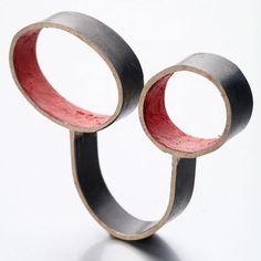 Lucia Massei - ring Pigmented shibuichi (silver & copper)