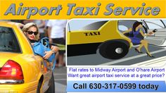 Lombard Taxi services to and from Midway Airport, O Hare Airport and the Loop Providing airport transportation with clean cabs and minivans and professional drivers On time airport taxi service to O hare Airport and Midway airport