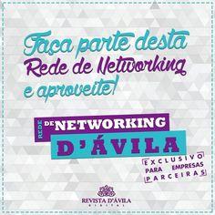 Participe da nossa Rede de Networking e abra um leque de ideias junto aos nossos parceiros! . http://ift.tt/1UOAUiP . Entre em contato consco e conheça nossos serviços e vantagens: (19) 3329-7741 / 9.7407-2216 ou contato@revistadavila.com.br