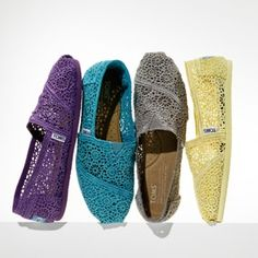 I would love a pair of Toms like these. I could walk around on my holidays in these. Please like and follow me.$19.99