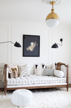 A living room is the central point of your home that needs a nice design.with these wall decor ideas for your living room, enhance the mood of your home. Decor, Furniture, Home Decor Inspiration, Interior, Room Inspiration, House Interior, Interior Design, Home And Living, House And Home Magazine