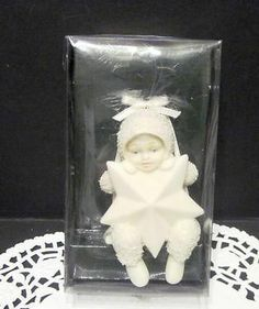 Department 56 Snowbabies Bisque Ornament Swinging on a Star  ( Me: Own this )