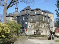 Upper Castle in Siegen, Germany which today serves as the Siegerland museum