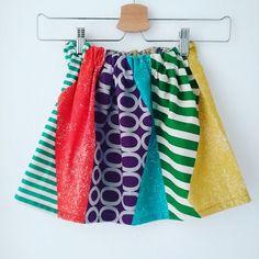 Kinderrock, Echino, moderne japanische Stoffe www.mai-lu.de Waist Skirt, High Waisted Skirt, Rock, Modern, Skirts, Fashion, Japanese Fabric, Kids, Moda