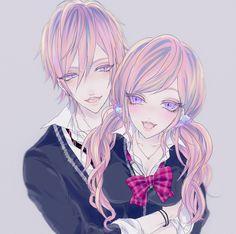 Ibuki Mangaka a girl.... a boy..... same personalities.... same style. ...fun.... a cute couple