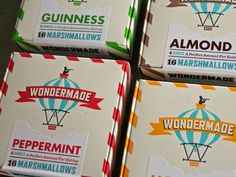 Delightful Wondermade Packaging and Identity- The Dieline - The #1 Package Design Website -
