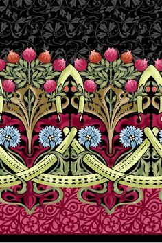 William Morris in Quilting: Fabric Collections