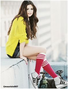 Selena Gomez is the face of a new Adidas NEO sneaker campaign. Description from shoppingblog1.rssing.com. I searched for this on bing.com/images