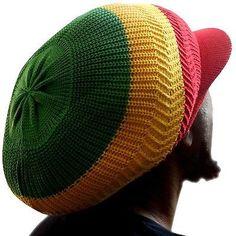 553bb3a57cc Rasta Roots Irie Natty Dread Cap Hat Selassie Africa Reggae Jamaica Marley  L to XL