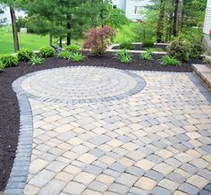paver patio with paver steps - Google Search
