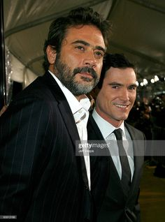 """Actors Jeffrey Dean Morgan and Billy Crudup arrive at the premiere of """"Watchmen"""" held at Grauman's Chinese Theatre on March 2009 in Hollywood, California. Get premium, high resolution news photos at Getty Images Happy Pics, Happy Pictures, Hollywood California, In Hollywood, Jefferey Dean Morgan, Billy Crudup, You Drive Me Crazy, Somewhere In Time, Stylish Bedroom"""