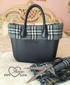 Carissime... questa è la versione invernale della mia O Bag nera!!!! Certo fatto da me, recuperando un giacchino della piccola...