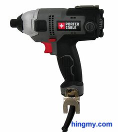 Porter Cable PCE201 Corded Impact Driver Review #PorterCable #impactdriver #screwdriver #review #powertools Drywall Screws, The Porter, Porter Cable, Great Power, Tool Belt, Impact Wrench, Impact Driver, Tools, Milwaukee