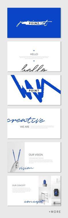 Point Presentation Template #keynote #simple #minimal #business #marketing #portfolio