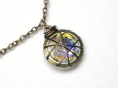 Peeta's wrapped heart- Hunger Games inspired Necklace in bronze